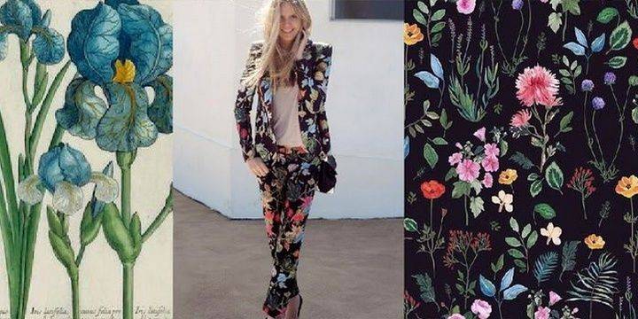 5 Fashion Ideas That Can Make Your Wardrobe Look Trendy in 2018 60s floral prints