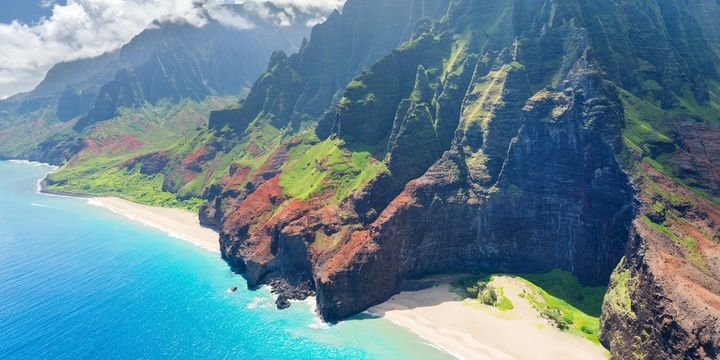 7 Most Stunning Areas in the United States Kauai Hawaii