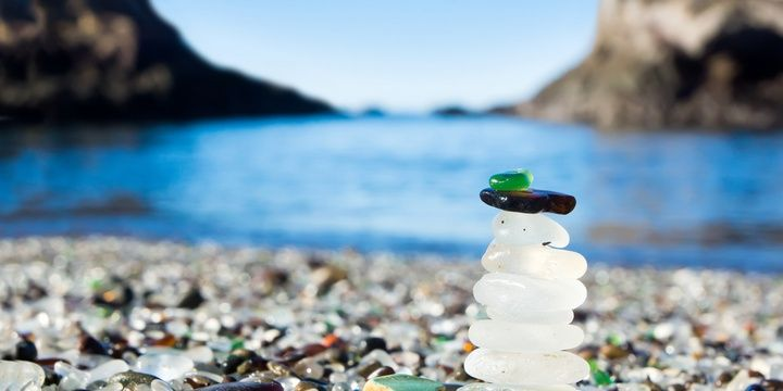 7 Most Unbelievable Locations on the Planet Glass Beach