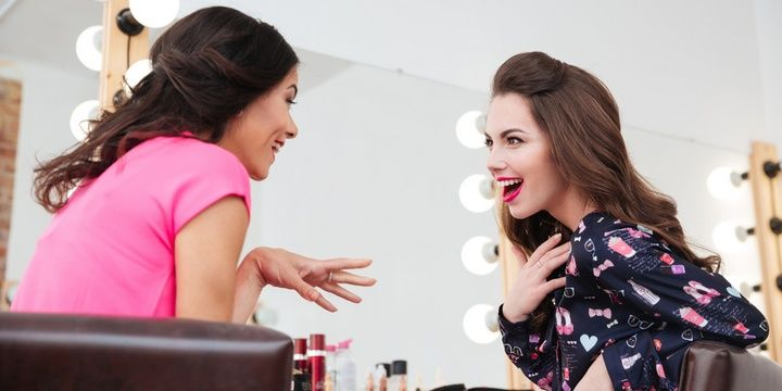 Professional Advice from Makeup Artists Make your final decision as to how much makeup you are going to use