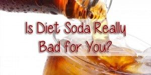 5 Negative Effects of Diet Drinks