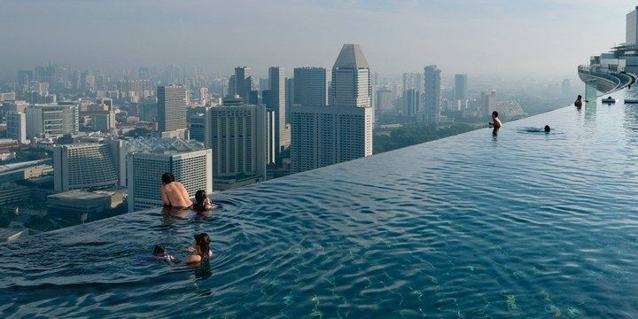 7 Most Breathtaking Rooftop Hotel Pools